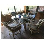Five piece Retain Breakfast set: 4 chairs 1 table