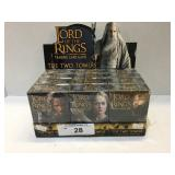 NIB Box of 2002 Lord of the Rings 12 (63) Card Dec