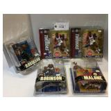 (5) Mcfarlane Basketball Figures NIB