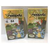 (2) 2003 Neopets Trading Card Game 2 Player Starte