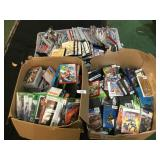 Huge Lot of Empty Game Boxes