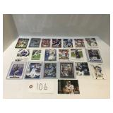 (20) Peyton Manning Football Cards