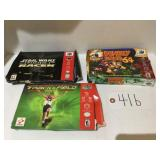 (3) Nintendo 64 Video Games in Box