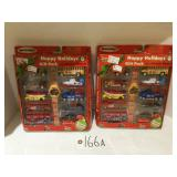 (2) Matchbox Happy Holidays Gift Pack