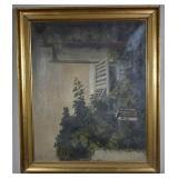 ca. 1900 Bertha Wegmann Original Landscape O/C