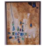 Si Lewen Mixed Media Abstract Painting