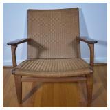 Hans J Wegner Lounge Chair Style Ch25