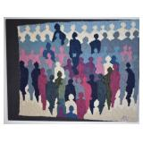Aase Vaslow Original Textile Art Tapestry Panel