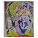 Aase Vaslow Original Abstract Acrylic on Canvas