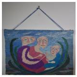"Aase Vaslow ""Relentless Serenity"" Woven Tapestry"