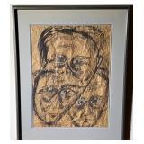 Aase Vaslow Original Drawing on Paper