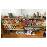 Contents of Maple Bookshelf in Dining Area