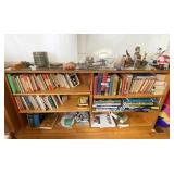 Maple Bookshelf in Dining Area