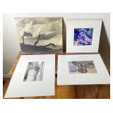 4 pcs. Original Art & Art Prints - Various Artists