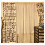 Mid-Century Linen Curtains - Aase