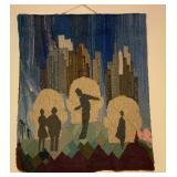 Aase Vaslow Original Art Tapestry Panel