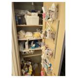Contents of the Bathroom Closet