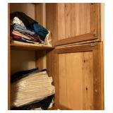 Contents of Built-in Storage Drawers & Cabinets