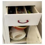 Contents of Utensil Drawer & Lower Cabinet