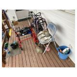 3 pcs. Walkers & Front Porch Items