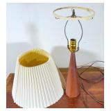 Mid-Century Modern Teakwood Lamp