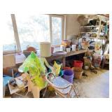 Gardening Supplies & Step Ladder & More