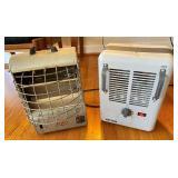 2 pcs. Vintage Space Heaters