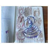 1975 Aase Vaslow Original Artists Sketchbook