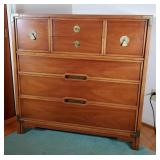 Compass by Drexel MCM Campaign 6-Drawer Chest