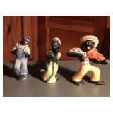 (3) pcs Black Americana ca. 1930