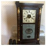 Antique Rosewood Seth Thomas mantel clock