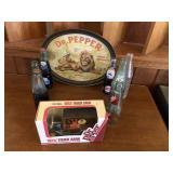9 pcs Vintage Dr. Pepper Collectors lot