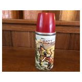 Rare 1955 Davey Crockett Lunchbox Thermos