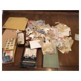 Large stockpile of US & Foreign stamps