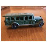 pre-war Tootsietoy Overland Bus Line Rare