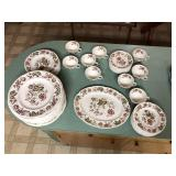 Early set of 55 pcs WindsorWare China