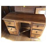 Vintage Cherry knee hole desk