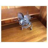 Hand crafted metal folk art mouse