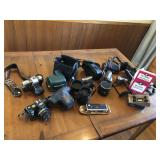 Massive lot of vintage cameras