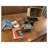 Large lot of vintage camera supplies & books