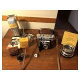 Kodak Retina IIIC Camera w/ Telephoto lens