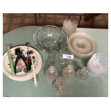 Large lot of misc glass & china items