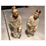 "Antique 6"" China porcleain figures"