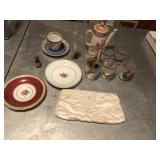 Early set of collectibles, Spode & more