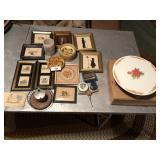 Vintage misc lot of décor Frames & more