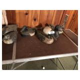 6pcs 4 are early hand carved duck decoys