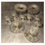 20pcs Genuine Duncan Glass dessert