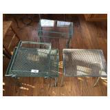4 pcs Wrought Iron tables