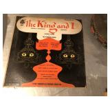 Vintage The King and I Plymouth Record P12-39