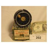 Vintage Fly Reel in Box